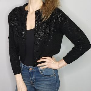 Vintage beaded cardigan sequins